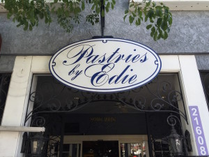 Pastries by Edie, Sign, in Canoga Park CA